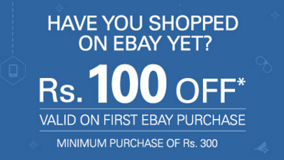 Coupons of ebay for new users