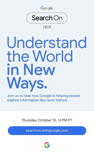 Acompanhe, em directo, o Google Search On - 15 de outubro /20h00