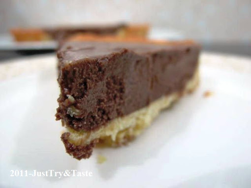 Resep Tart Coklat Sutera (French Silk Chocolate Tart)