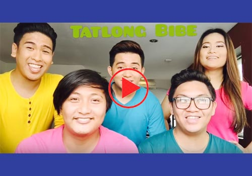 tatlong bibe a cappella cover by acapellago