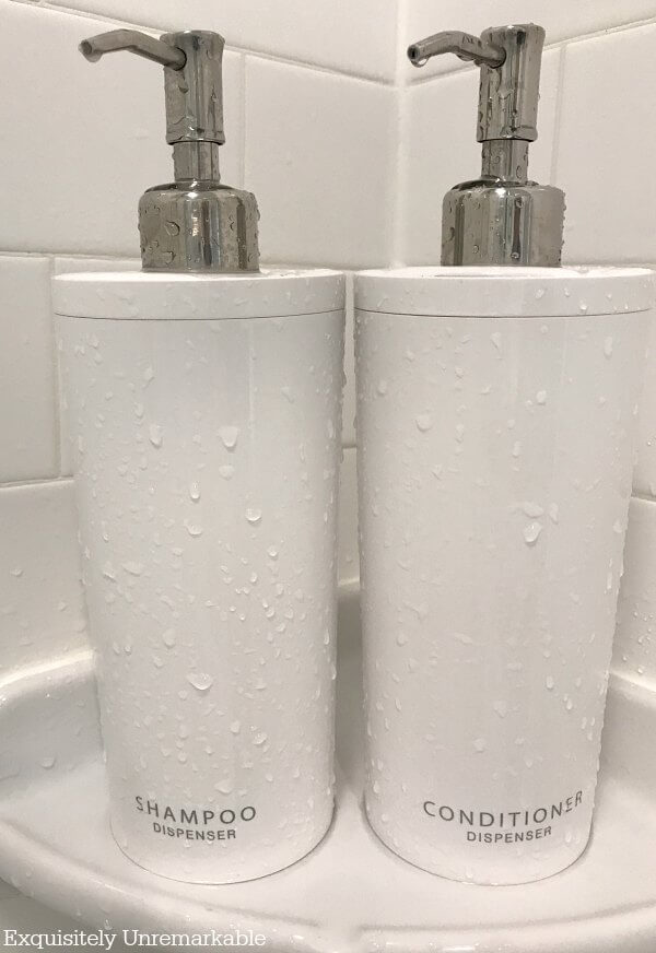 Shampoo and Conditioner Pump