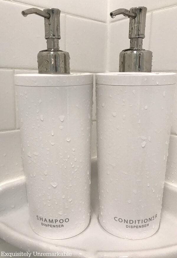 Shampoo and Conditioner Pump