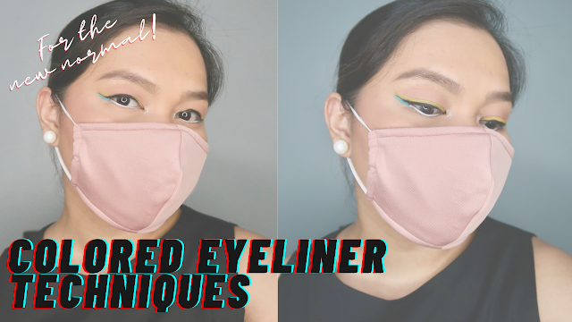 Colored Eyeliner Tips and Tricks + Youtube Video