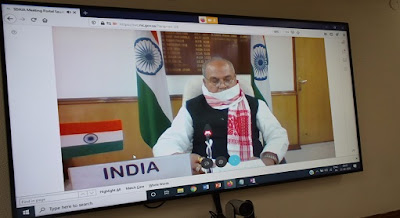 Narendra Singh Tomar participates in the G-20 Extraordinary Agriculture Ministers Virtual Meeting