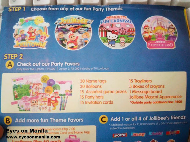 Jollibee Party Theme