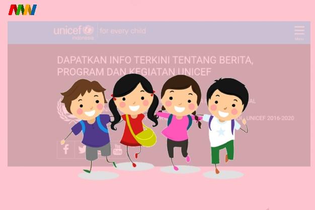situs donasi online unicef indonesia