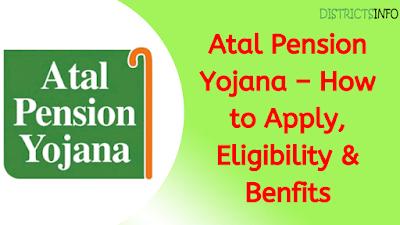 Atal Pension Yojana – How to Apply