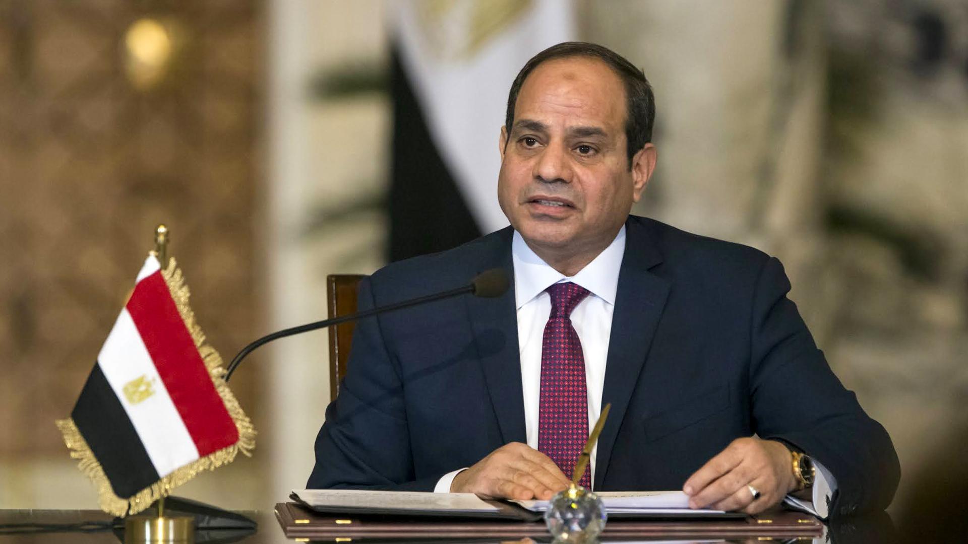 السيسي يدعو لعدم القلق بشأن أمن مصر Egypt القومي وحقوقها المائية