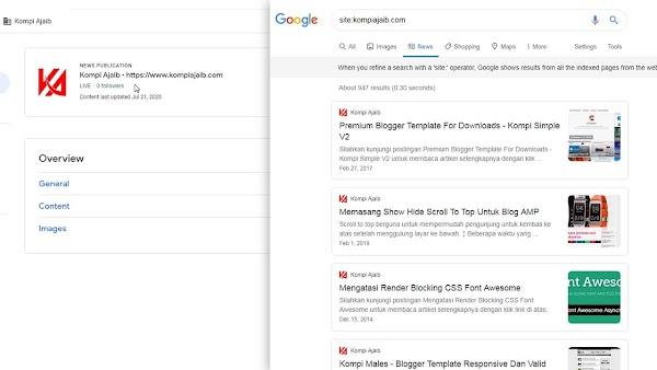 Cara Mendaftarkan Blogger Ke Google News