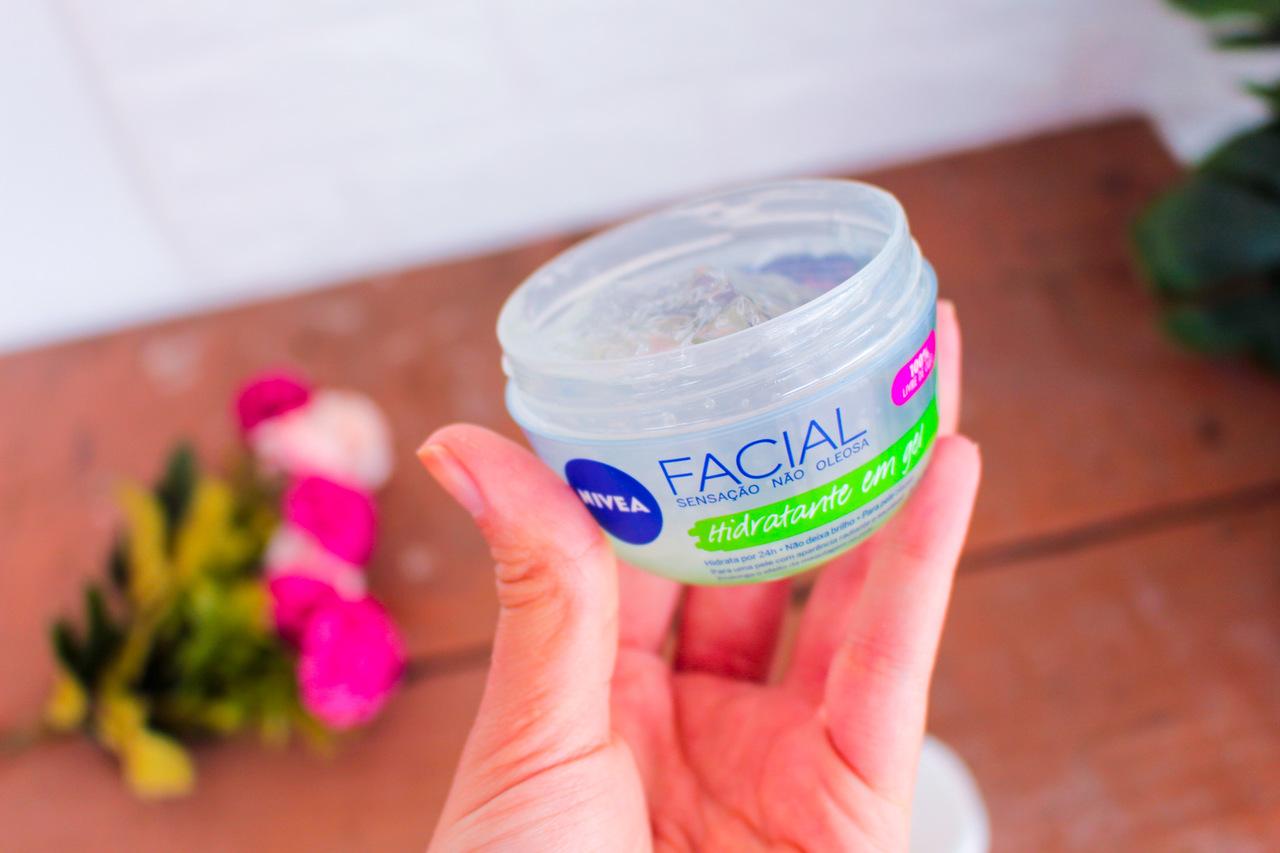 Hidratante Facial em Gel Nivea com Ácido Hialurônico