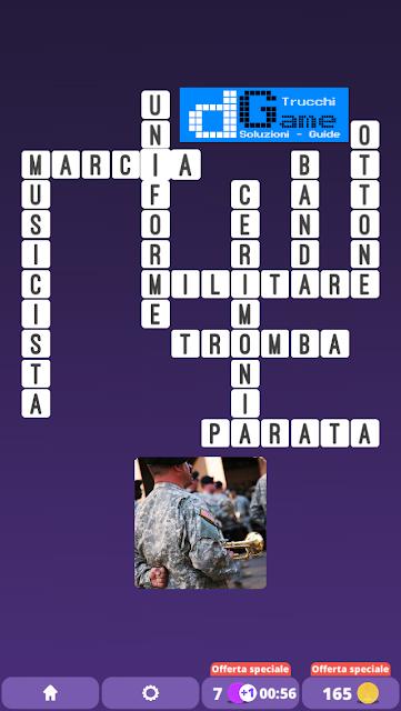 Soluzioni One Clue Crossword livello 25 schemi 8 (Cruciverba illustrato)  | Parole e foto
