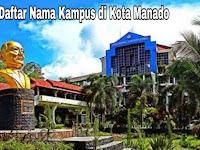 7+ Kampus Terbaik di Kota Manado