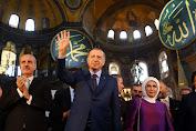 Erdogan: Hagia Sophia Akan di Buka Untuk Beribadah