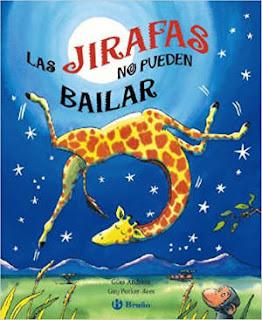 mejores cuentos infantiles, libros preferidos niños, las jirafas no pueden bailar pop up