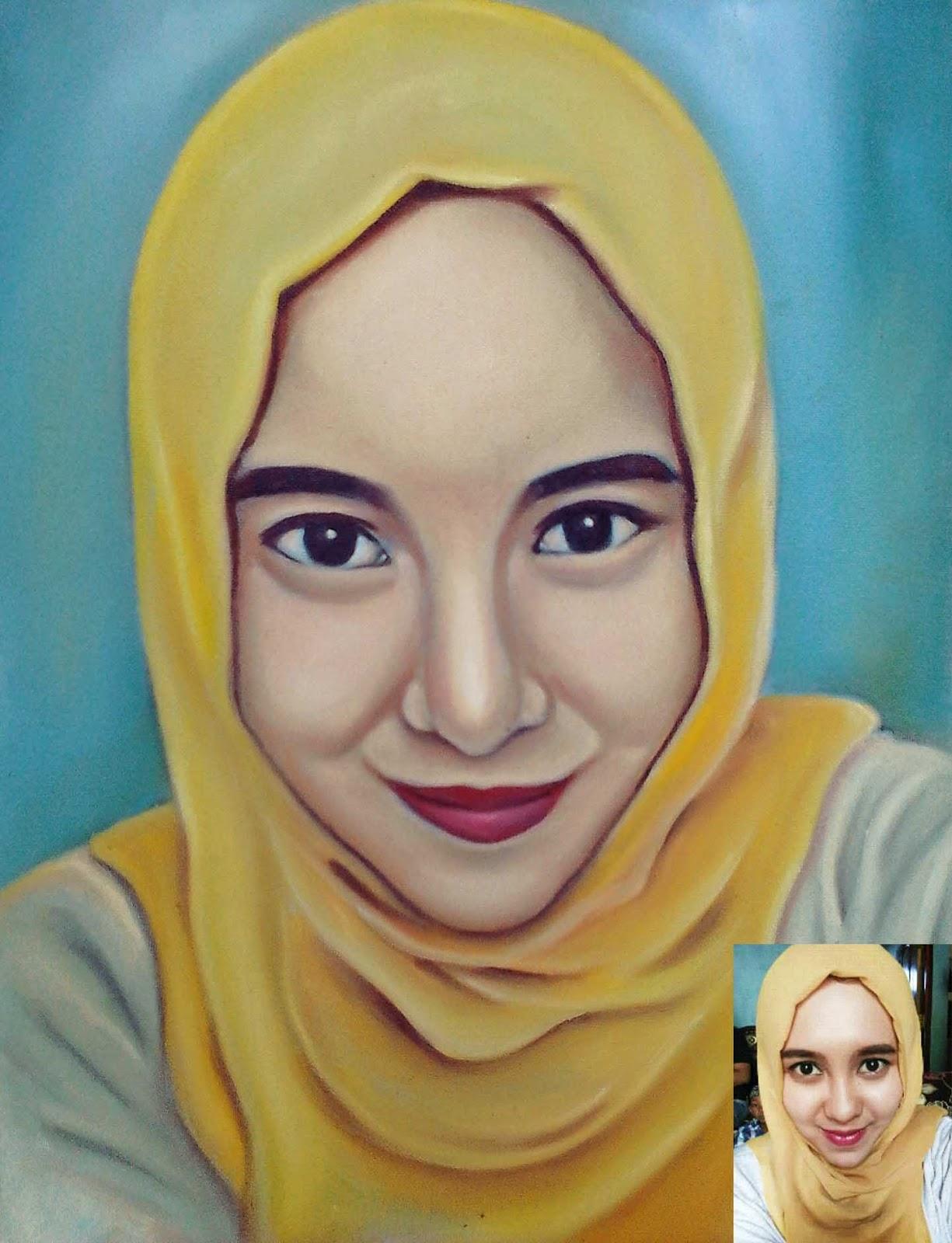 Hasil gambar untuk lukisan wajah