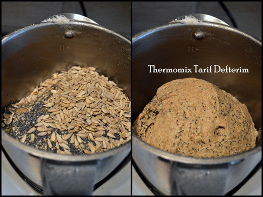 Step by step photographed Thermomix recipe: Long Fermented Whole Wheat Bread
