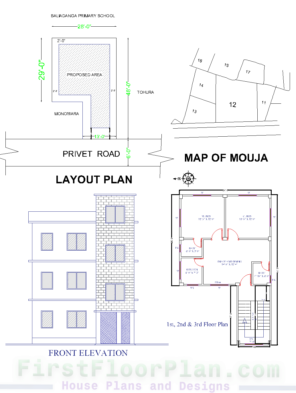 House Floor Plan Layout