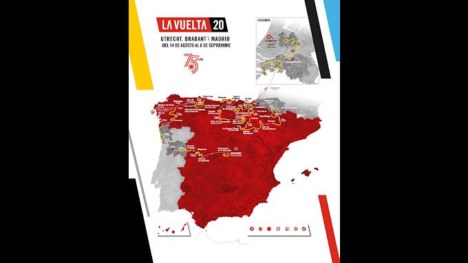 EL RECORRIDO DE LA VUELTA A ESPAÑA 2020