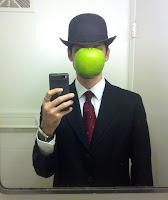 Disfraz Pintura del artista Magritte