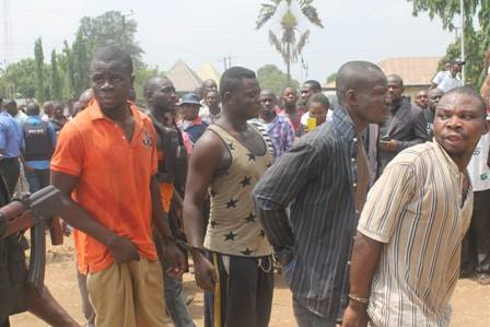 6 Kidnappers arrested in imo state part of Nigeria