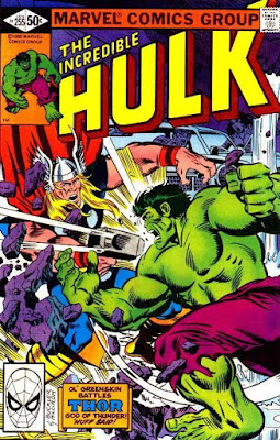 Incredible Hulk #255, Thor
