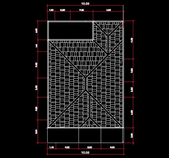 Download Desain Rumah Minimalis Dwg  contoh gambar denah rumah autocad ilmu teknik sipil indonesia