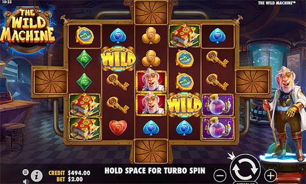 Main Gratis Slot Indonesia - The Wild Machine (Pragmatic Play)