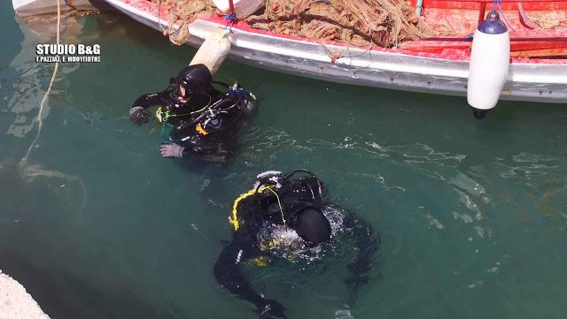 Επιχείρηση δυτών για τον εντοπισμό της βάρκας του άτυχου ψαρά από το Τολό
