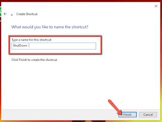 Cara Membuat Tombol ShutDown pada Windows 10