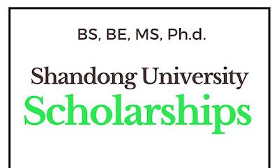 700 منحة جامعة شاندونغ في الصين 2021 - ممولة بالكامل