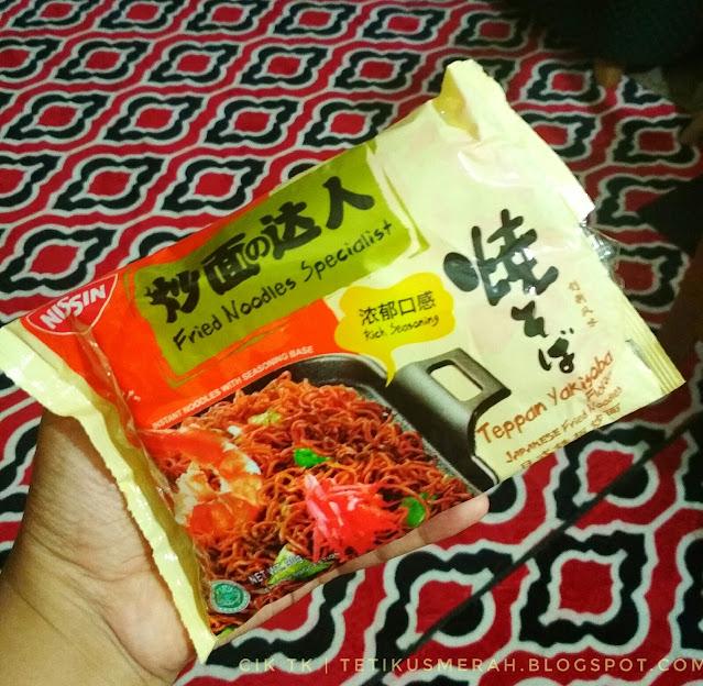 nissin teppan yakisoba fried noodle