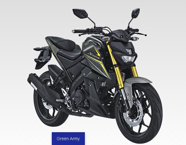 Yamaha Xabre 2017 Green Army