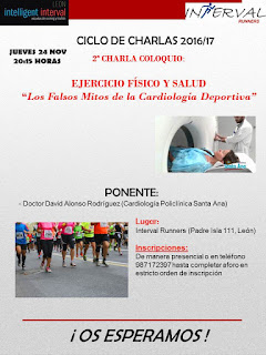 conferencia cardiologia y corredores populares