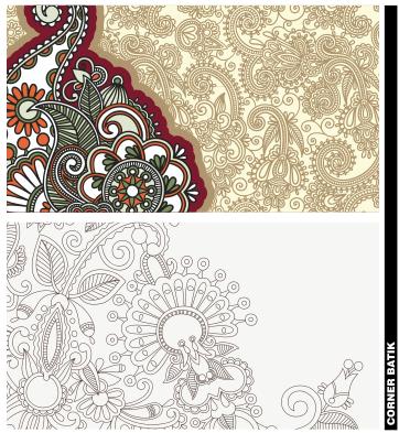 Vector Desain Batik