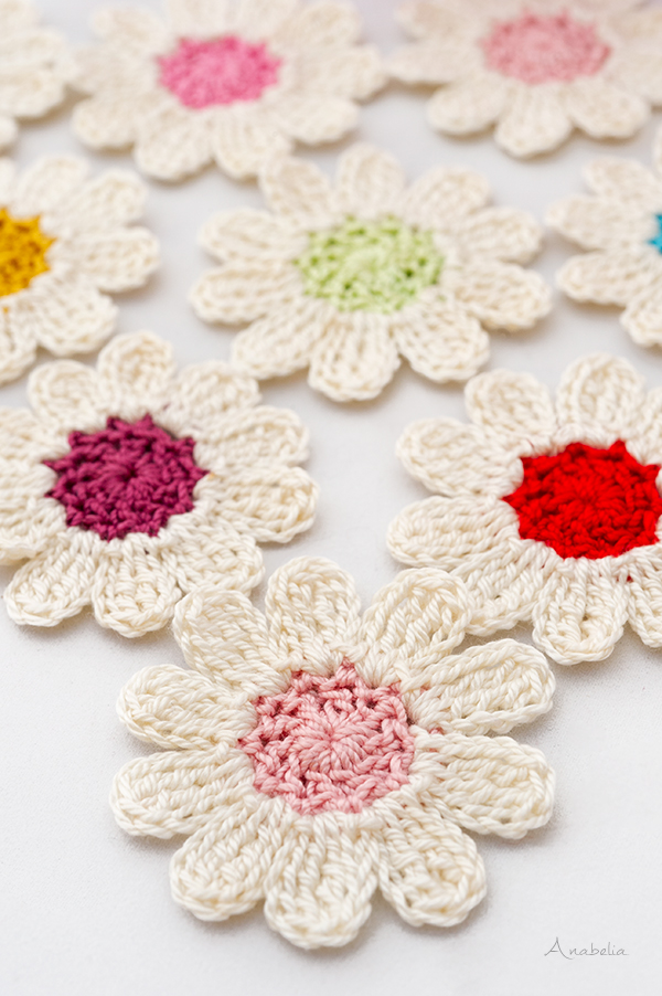 Crochet flower 3_2020 free pattern, Anabelia Craft Design