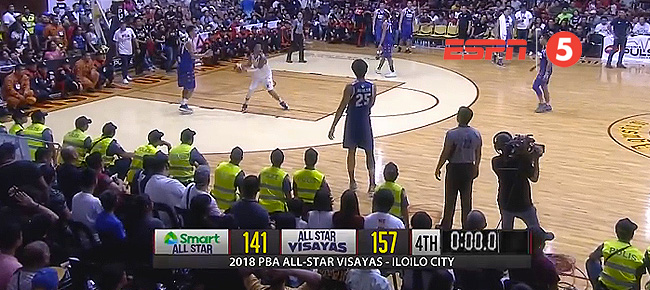 PBA Visayas All-Stars def. SMART PBA All-Stars, 157-141 (REPLAY VIDEO) May 27