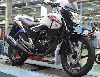 New Striping Colour Honda Megapro 2012