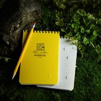 Notebook Rite In The Rain est un cahier étanche pour écrire sous la pluie