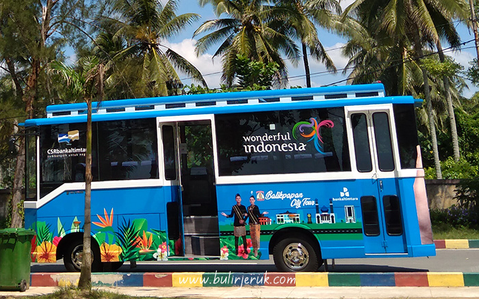 Bus Balikpapan City Tour