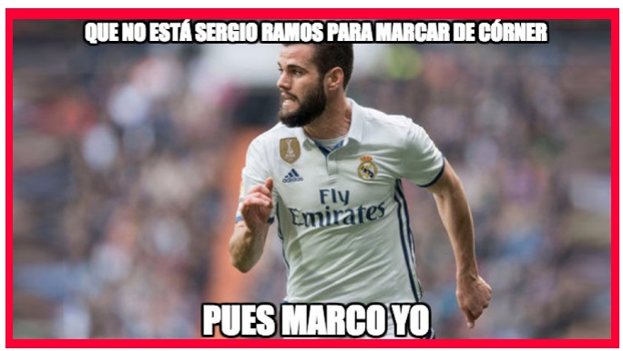 Meme Nacho Real Madrid