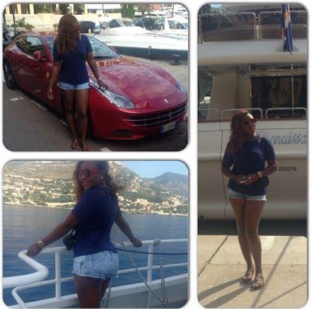 ini edo on holiday in europe