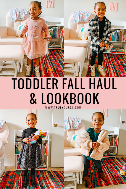 Toddler fall clothing haul & outfit ideas lookbook ft. Target, H&M, Old Navy, Walmart, Vans.