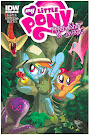 My Little Pony Friendship is Magic #6 Comic Cover Hot Topic Variant