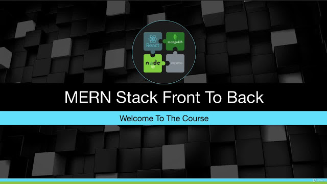 MERN Stack Front To Back: Full Stack React, Redux & Node.js