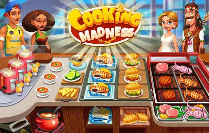 About cooking madness Android game