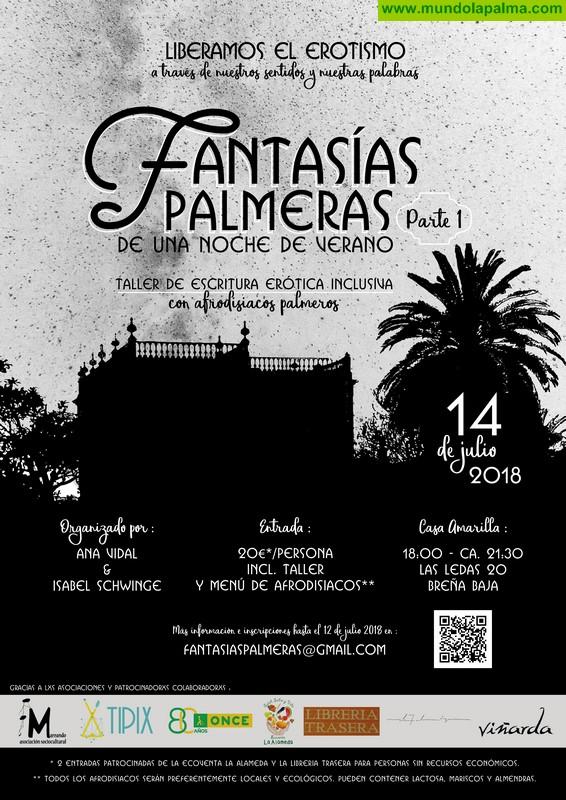 Fantasías Palmeras de una Noche de Verano: Taller de escritura erótica inclusiva con afrodisíacos palmeros