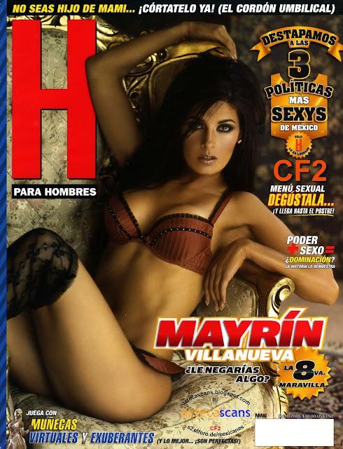 Mayrin Villanueva Revista H Mayo 2006 [FOTOS]-solorevistah.com