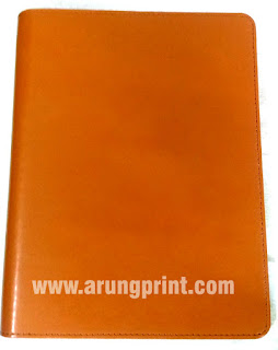 tempat cetak buku agenda cover kulit asli paling murah