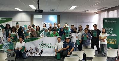Kopdar Investarian Bersama Reksadana Manulife dan Kiat Ngeblog