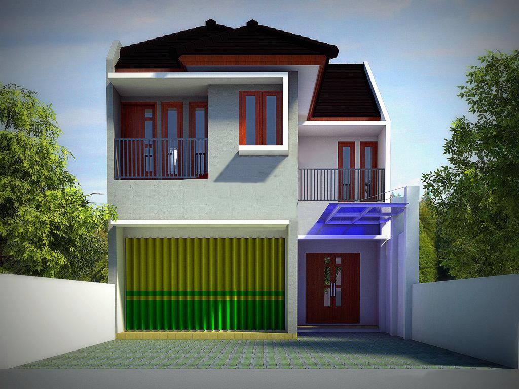 57 Koleksi Gambar Rumah Ruko Minimalis 2 Lantai HD